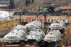 Dark Roasted Blend: Streamlined Soviet Passenger Hydrofoils