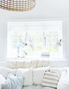 cozy white cottage living room