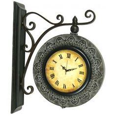 "Link Direct R01786-UPS Metal Wall Clock $42.00.   13""x18"""