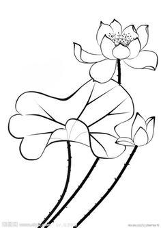 연꽃도안 : 네이버 블로그 Watercolor Lotus, Lotus Painting, Fabric Painting, Watercolor Flowers, Pichwai Paintings, Indian Art Paintings, Folk Art Flowers, Flower Art, Rajasthani Painting