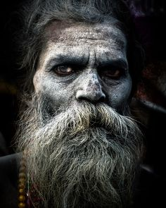 24 Best Aghori images in 2017 | Portraits, Death, Faces