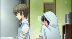 Anime/manga: Special A Characters: Kei and Hikari, that's the reaction I would do.