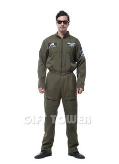 >> Click to Buy << Halloween Costumes for Men Airforce Costume Police Man Cosplay Fantasia Disfraces Party Game uniforms Fancy Dress GT375 #Affiliate