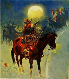 Western Christmas, Father Christmas, Country Christmas, Christmas Art, Vintage Christmas, Cowboy Art, Cowboy And Cowgirl, Western Art, Christmas Pictures