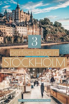 Got only a long week in Stockholm? Make the best of your 3 days in Stockholm wit… Got only a long week in Stockholm? Make the best of your 3 days in Stockholm with this detailed guide. Includes highlights as well as hidden gems. With fun facts and map! Europe Destinations, Europe Travel Tips, European Travel, Travel Guides, Travel Goals, Travel English, Budget Travel, Stockholm Travel, Copenhagen Travel
