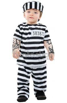 Disfraz para bebé preso.Disfraces baratos para bebés, disfraces para Carnaval, disfraces baratos, disfraces infantiles - Tienda Esfantastica