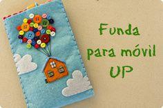 Funda para móvil (UP) | Aprender manualidades es facilisimo.com