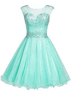 Sarahbridal Girls Short Tulle Beading Homecoming Dress Prom Gown US10 Mint Sarahbridal http://www.amazon.com/dp/B015YU3SIQ/ref=cm_sw_r_pi_dp_fq6xwb1H61E7Q