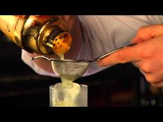 """Jamie Boudreau \ """"Embalmer Cocktail"""" \ 1.5oz Vodka \ 0.75oz  Yellow Chartruse \ 0.5oz Lime \ Thyme\ Top with Champagne\ Garnish w/ Thyme"""