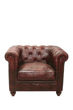 Chesterfield Club Chair French Roast
