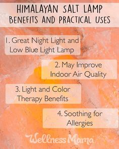 What Do Salt Lamps Do Health Benefits Himalayan Salt Lamps Will Amaze You  Pinterest