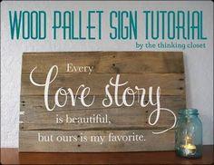 wood pallets art - Bing Images