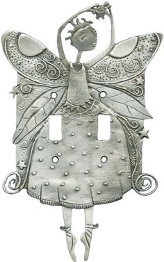 DANCING FAIRY Switch Plates, Outlet Covers & Rocker Switchplates