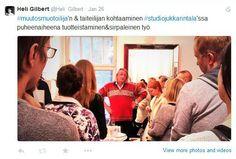 Studio Jukka Rintalassa tapaamassa tuotteistamisen maestroa.
