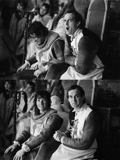 Michael Palin and John Cleese | Rare and beautiful celebrity photos