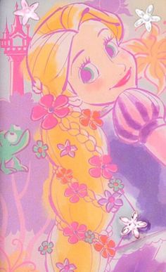 Rapunzle my idol💜 Disney Princess Rapunzel, Tangled Rapunzel, Disney Tangled, Walt Disney, Cute Disney, Disney Pins, Disney Magic, Rapunzel Story, Disney Artwork