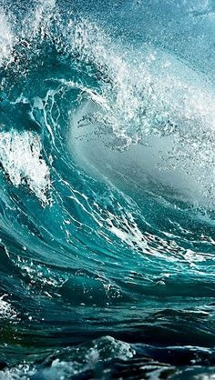 Dec 2019 - Water, Waves and the ocean. Only the beauty of wind and water. because we love salty water & stormy sea. See more ideas about Ocean, Waves and Water. No Wave, Water Waves, Sea Waves, Sea And Ocean, Ocean Beach, By The Sea, Ocean Sunset, All Nature, Amazing Nature