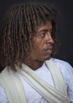 Afar Tribe Man, Afambo, Ethiopia | © Eric Lafforgue