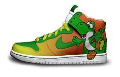 Yoshi Nike Sneakers