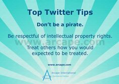 Don't be a pirate!