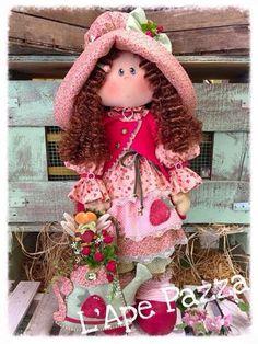 Cartamodelli Bambole primavera 2016 : Cartamodello Tata Dorotea