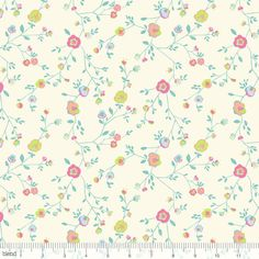 Garden Party Woodland Floral Ivory by Katy Tanis