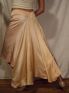 Peach Sorbet Tango Skirt. $150,00, via Etsy. I don't even tango but I want