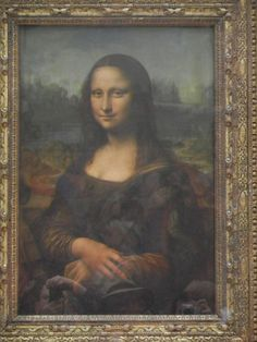 If you ever find yourself in Paris make sure to set aside a day to stop by the Louvre to take in the sights of some of the world's most beautiful art. World's Most Beautiful, Dream Big, I Am Awesome, Mona Lisa, Places To Visit, Louvre, Canvas, Day, Artwork