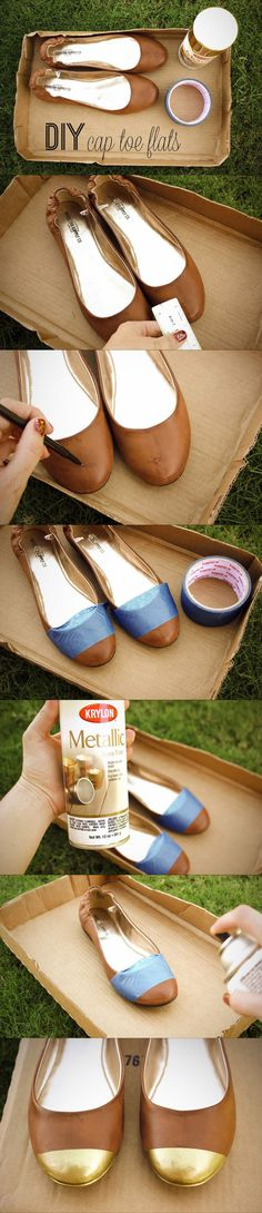 I'm doing this ASAP.  Next time I find a pair of cheap flats.