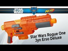 Star Wars Rogue one NERF Sergeant Jyn Erso blaster, paintjob en barrel mod.  (It's my first one!)