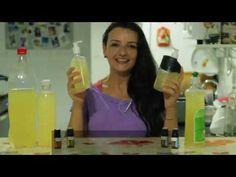 YouTube - detergente de álcool