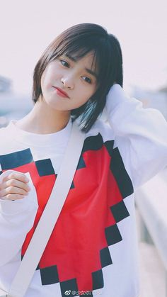 shen yue - Twitter Search / Twitter Jung So Min, Kim Min, Meteor Garden Cast, A Love So Beautiful, Cute Actors, Poses For Photos, Girl Short Hair, Chinese Actress, I Love Girls