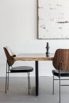 "84""L + 27-36""W + 30""H INDUSTRIAL STEEL + PAROTA POLY FINISH //CUSTOMIZE THIS PIECE   This Dining Table is Custom Made in Los Angeles. The live edge slab is orde"
