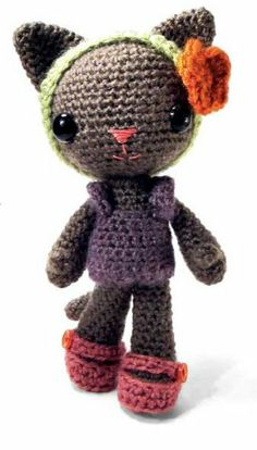 This is one of the projects from the book Zoomigurumi, Paperback by Joke Vermeiren $16.95