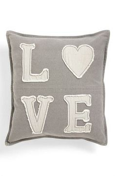 Give a little love all day long with this fun pillow. #holidaygifts