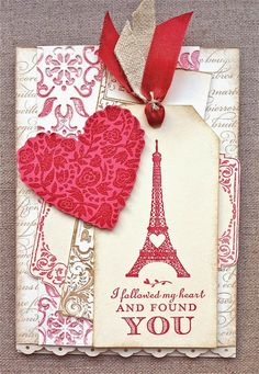Stampin'Up Valentine