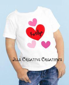 Valentine's day, t-shirts, Hearts