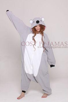 a8ab12e500 Animal Costume Koala Onesie Kigurumi Pajama So cute