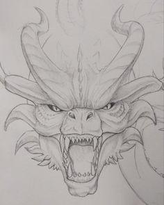 godzilla king of monsters Dark Art Drawings, Fantasy Drawings, Pencil Art Drawings, Art Drawings Sketches, Animal Sketches, Animal Drawings, Godzilla Tattoo, Godzilla Godzilla, Monster Sketch