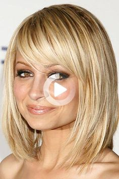 Long hair, begone! #bobhairstyles Long Hair Cuts, Long Hair Styles, Short Celebrities, Celebrity Haircuts, Bob Hairstyles With Bangs, Blonde Bobs, Salons, Stylists, My Style
