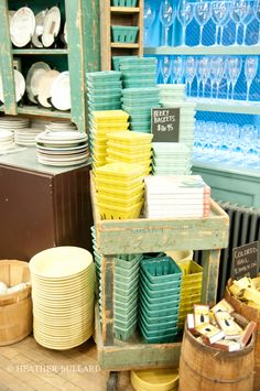 fishs eddy | heather bullard The styling in this store is INSANELY amazing!