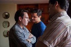 "%TITTLE% -    Francisco Denis, Arturo Castro (Photo: Juan Pablo Gutierrez/Netflix)        ""People love drama, brother. You know that."" So says Andrés Crespo's security chief Cordova, attempting to reassure his anxious colleague Jorge as they leave a tense meeting with now Cali boss Miguel Rodriguez.... - http://9gags.site/survival-means-choosing-a-sacrifice-on-a-gripping-narcos.html"