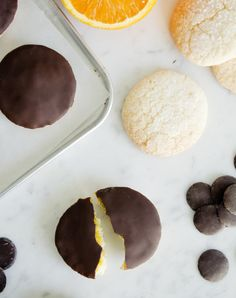 Receta de galletas Pim´s de naranja Homemade Jaffa Cakes recipe #pim´s #jaffacakes #receta #recipe #naranja #florentine