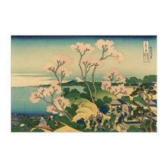 #customize - #Vintage japanese print by Katsushika Hokusai Acrylic Print