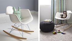 Silla Infantil RAR Charles Eames Style - Polipropileno Mate - sillas de salón