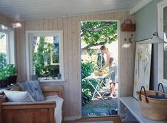 Cosy kolonistuga in Uppsala Swedish Cottage, Cozy Cottage, Air Bnb, Uppsala, Cabins, Future House, Cottages, Cosy, Ikea