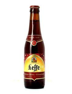 Leffe de Noël. 6% alcohol and very good.
