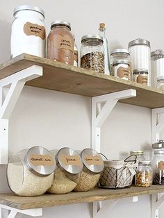 Small Kitchen Makeover Stunning Diy Kitchen Storage Solutions For Small Space And Space Saving Ideas No 49 - Stunning Diy Kitchen Storage Solutions For Small Space And Space Saving Ideas No 01 Kitchen Storage Solutions, Diy Kitchen Storage, No Pantry Solutions, Shelves For Kitchen, Kitchen Shelf Decor, Kitchen Display, Kitchen On A Budget, New Kitchen, Kitchen Pantry