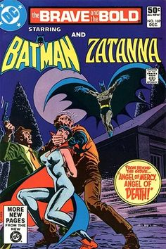 Brave & the Bold Vol. 26 No. 169 1980 Batman and Zatanna by TheSamAntics Batman Comic Books, Batman Comics, Comic Books Art, Comic Art, Book Art, Batman Poster, Vintage Comic Books, Vintage Comics, Vintage Art