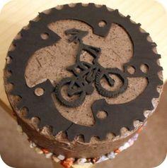 potential birthday cake idea for Matt's 25th Bicycle Cake, Bike Cakes, Mountain Bike Cake, Mountain Biking, Cake Cookies, Cupcake Cakes, Cupcakes, Bmx Cake, Cake Design For Men